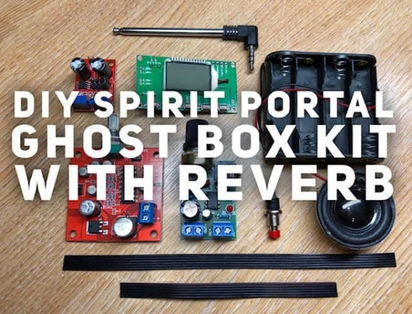 How to build a ghost box kit infraready