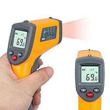 Paranormal Thermometer