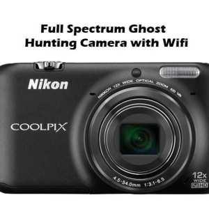 ghost hunting camera nikon