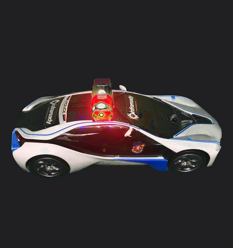 police car ghost hunting