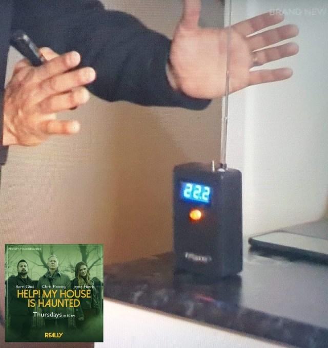 equipment help house haunted