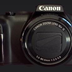 infrared converted camera Canon sx170