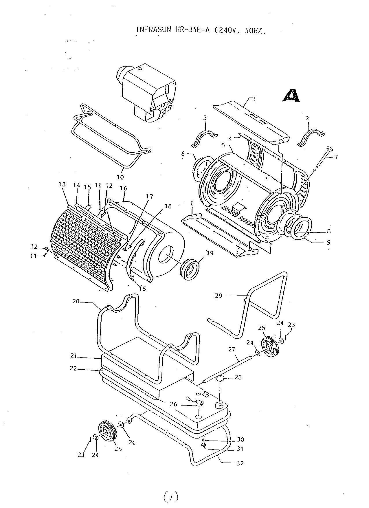 radiant gas heater wiring diagram