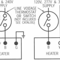 240v Electric Heat Wiring Diagram Suburban Rv Furnace Thermostat Qmark Radiant Ceiling Panels
