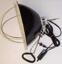 ZooMed Brooder Lamp Reflector for use with ESES (Short ...