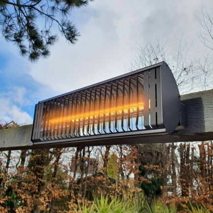 wall mounted electric patio heaters