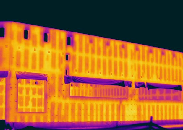 Grout in CMU Wall Infrared Imaging Services LLC 0 1 - Block Wall Scan Infrared