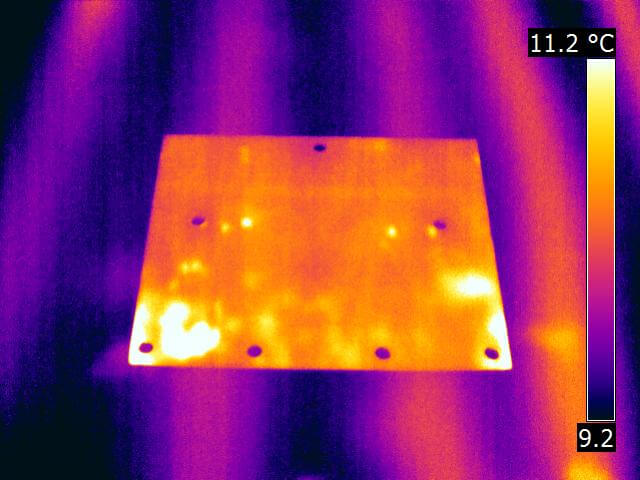 Marking radiant heat lines 1 - Radiant Heat Leak Detection