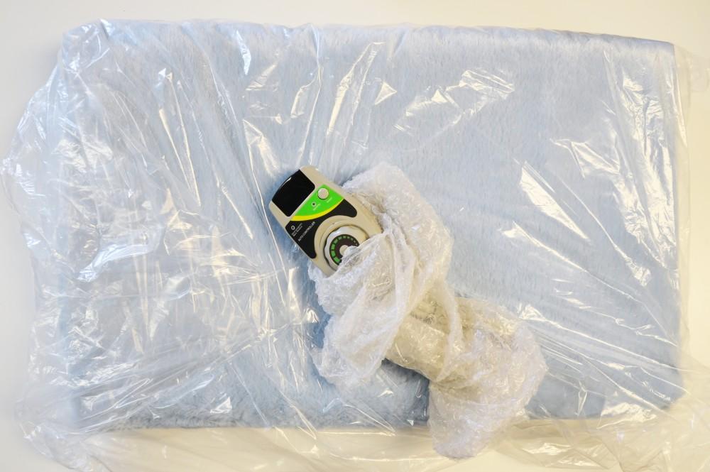 Infrarood mat met fleece  Farinfrared  Gezondheidsproduct