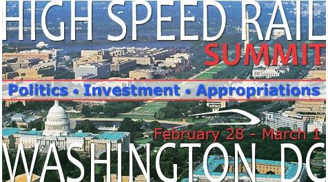 High Speed Rail Summit Washington DC