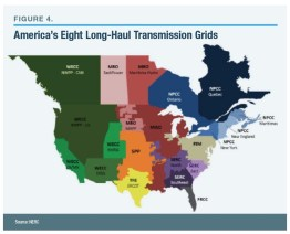 America's Eight Long-Haul Transmission Grids