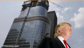 Donald Trump and Skyscraper
