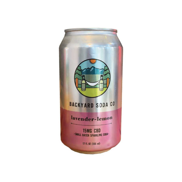 Lemon Lavender CBD Soda | Backyard Soda CO.