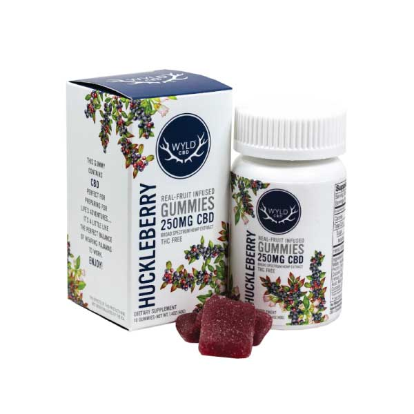 Huckleberry CBD Gummies | Wyld
