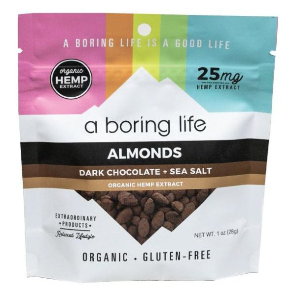 Dark Chocolate & Sea Salt Almonds | A boring Life