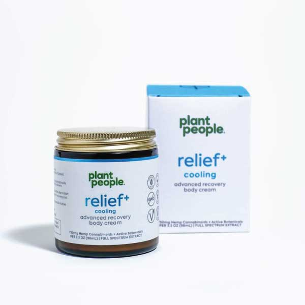 Relief+ Cooling CBD Cream | Plant People