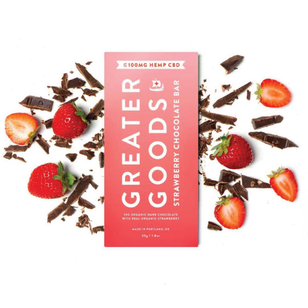 Strawberry Chocolate Bar | Greater Goods