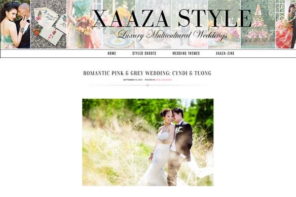 Xaaza Style featured wedding of Cyndi + Tuong