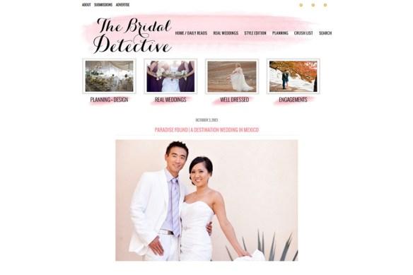 The Bridal Detective :: Jaime + Brian Mexico Destination Wedding