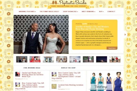 Poptastic Bride :: Jenn + Randy Real Wedding Feature