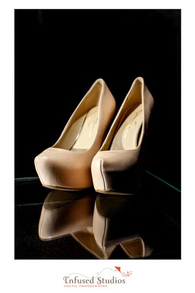 Christian Louboutin nude shoes