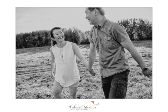 St Albert wedding & engagement photographers :: Rosanna + Chris' black & white engagement