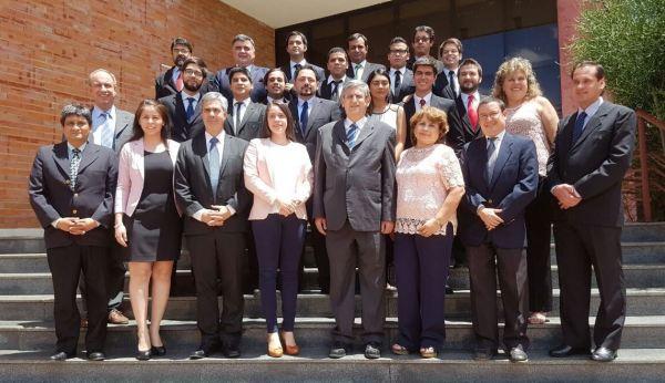 Miembros del Consejo Directivo de la FIUNA