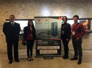 Docentes investigadores de la FIUNA, José Luis Gutiérrez, María Alicia Arévalos, Belén Martínez y Hermann Segovia en Lima (Perú)