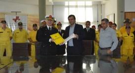 La FIUNA y el Cuerpo de Bomberos Voluntarios Del Paraguay (CBVP) firmaron convenio de cooperación