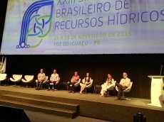 Docentes investigadores de la FIUNA presentan trabajos en el XXIII Simpósio Brasileiro de Recursos Hídricos