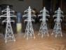 Flujo de aire sobre modelos a escala de estructuras