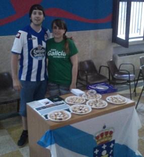 Xoán y Leticia en Palermo