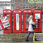 LAST MINUTE!! Hoy Jornada Informativa: Encontrar trabajo en Reino Unido