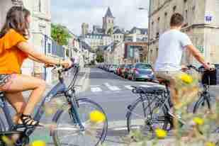 Paseo en bici Caen
