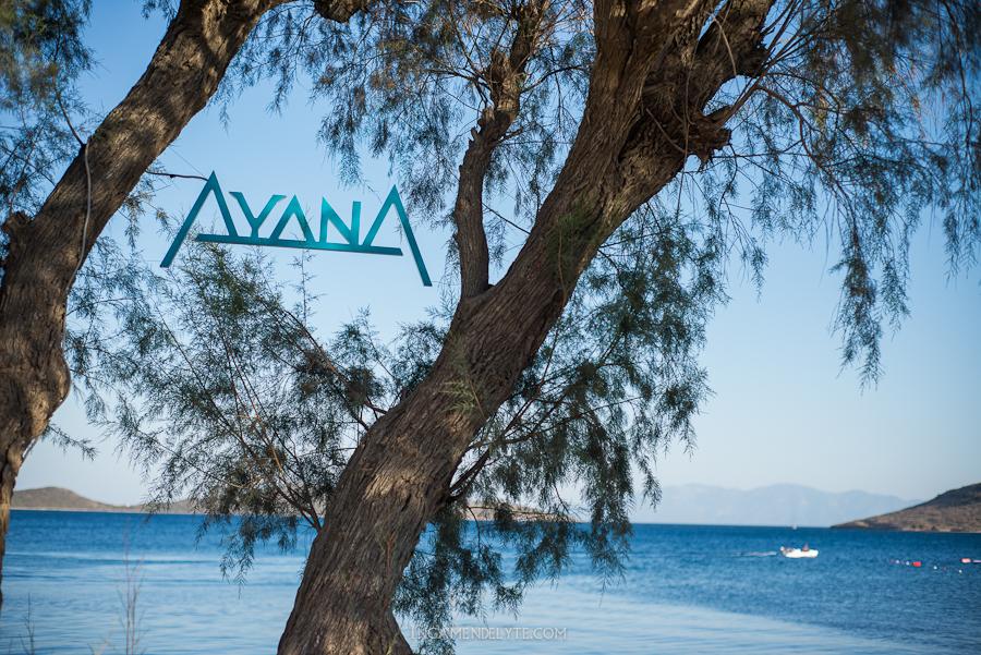 Ayana restaurant ortakent bodrum