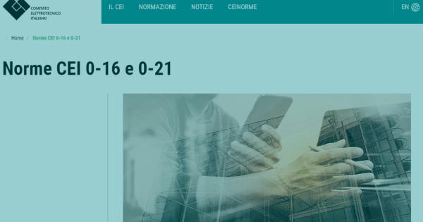 CEI 0-21 2019