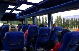 Bus to Te Anau