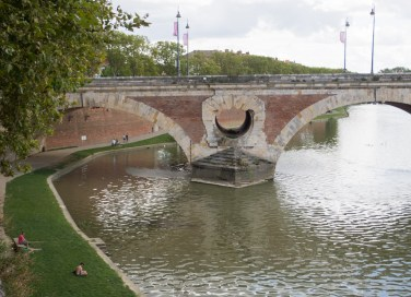 Bridge arch: beauty and function.