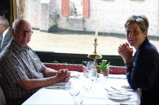 Lunch in Bruges with Bob