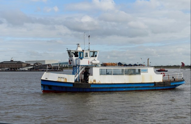 Ferry across the Thames