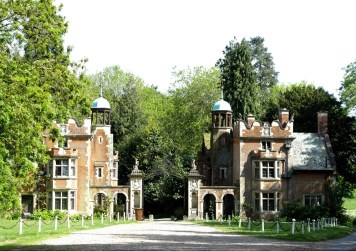 Entry to a country estate