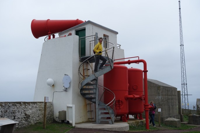 Foghorn at Sumburgh Head