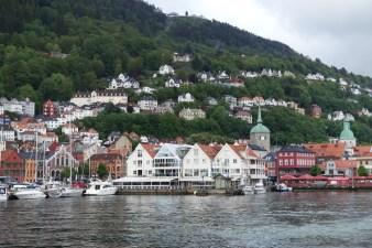North side of Bergen harbour.