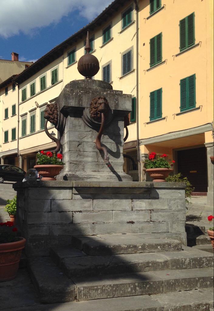 Fountain in Stia