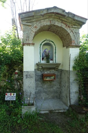 Shrine by the path