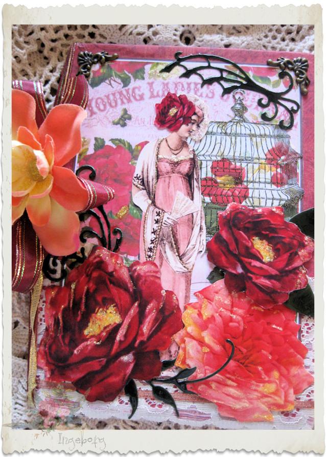 Front of love journal by Ingeborg van Zuiden