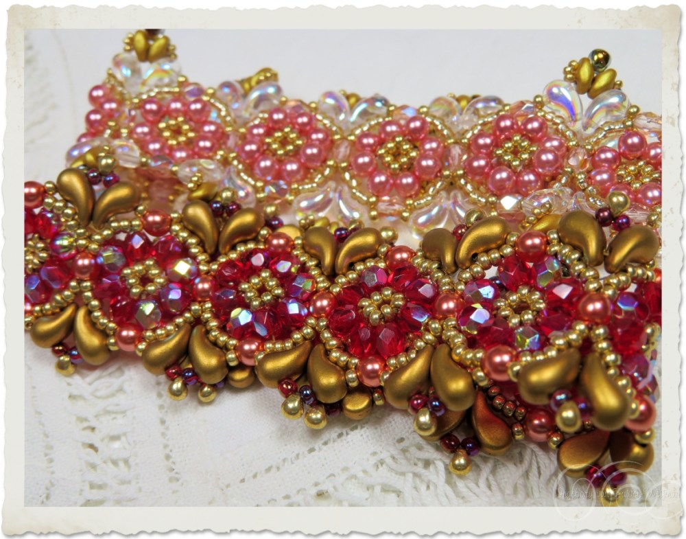 Zoliduo bracelet created from pattern of Deb Roberti