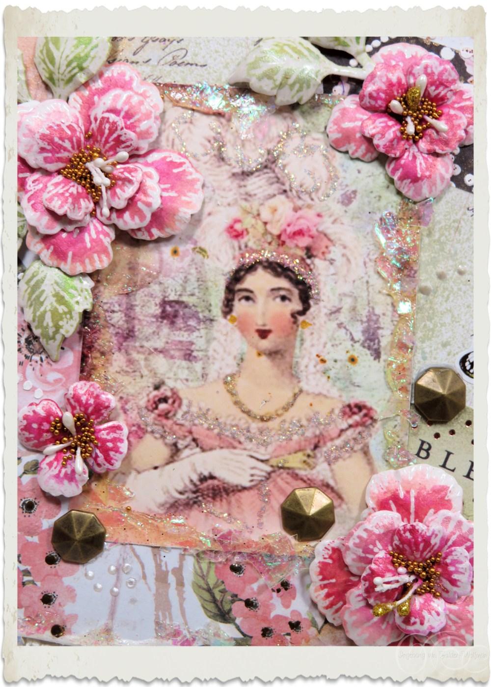 Pretty lady in pink by Ingeborg van Zuiden