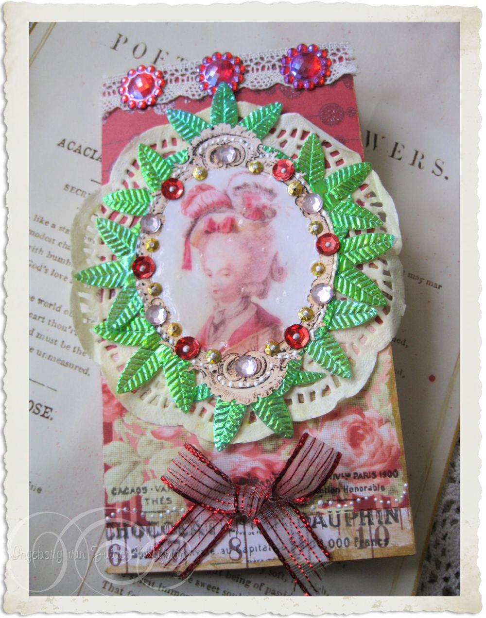 Marie's Christmas tea invitation by Ingeborg van Zuiden