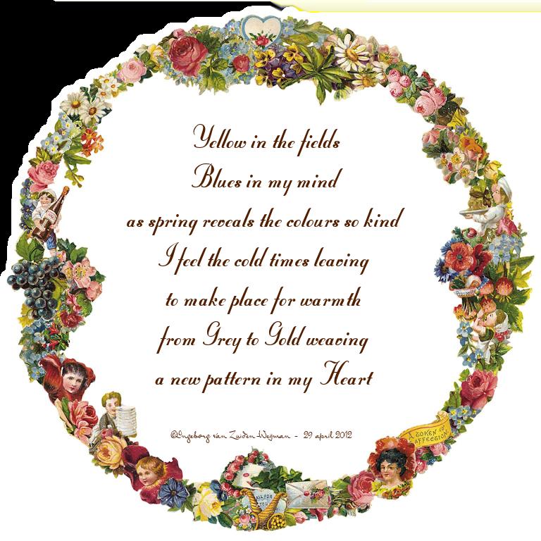 Colours of my mind poem by Ingeborg van Zuiden